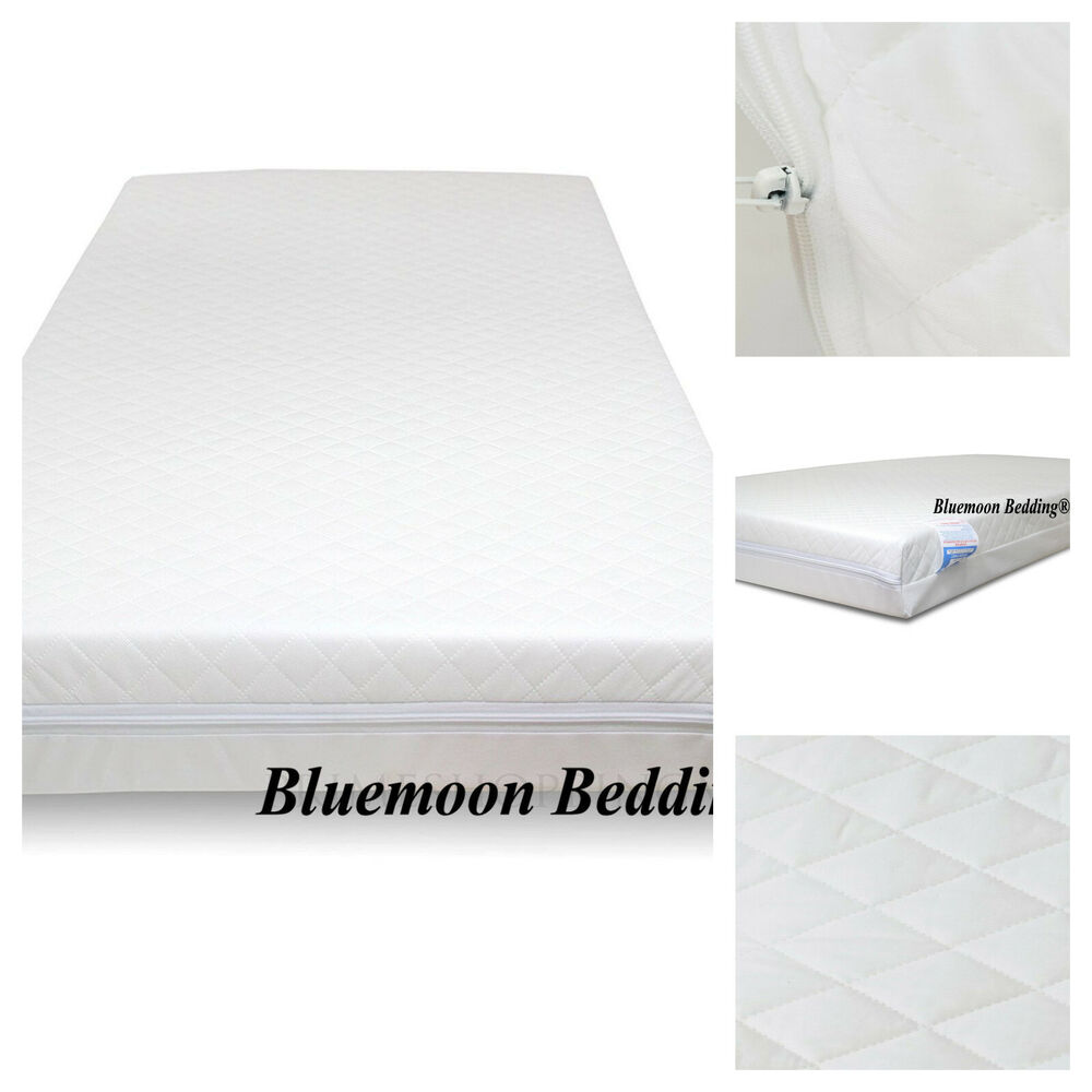 Cot Mattress 170 X 40 Cot Mattress Foam Cot Bed Mattress Baby Junior Toddler Quilted All Sizes Ebay