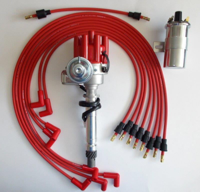 distributor wiring for chevy 350