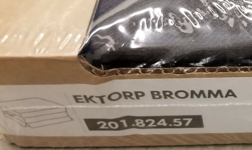 Ektorp Slipcovers Ikea Ektorp Armchair And Footstool Ottoman Slipcovers Covers Svanby Brown Linen Ebay