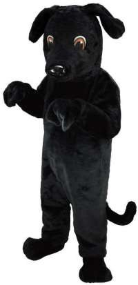 Black Lab Dog Professional Quality Lightweight Mascot ...