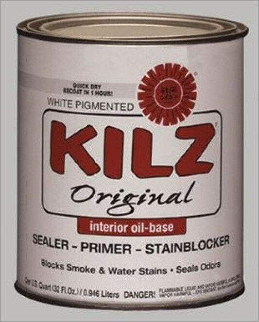 New Masterchem 10002 Kilz Quart Original Oil Based Sealer