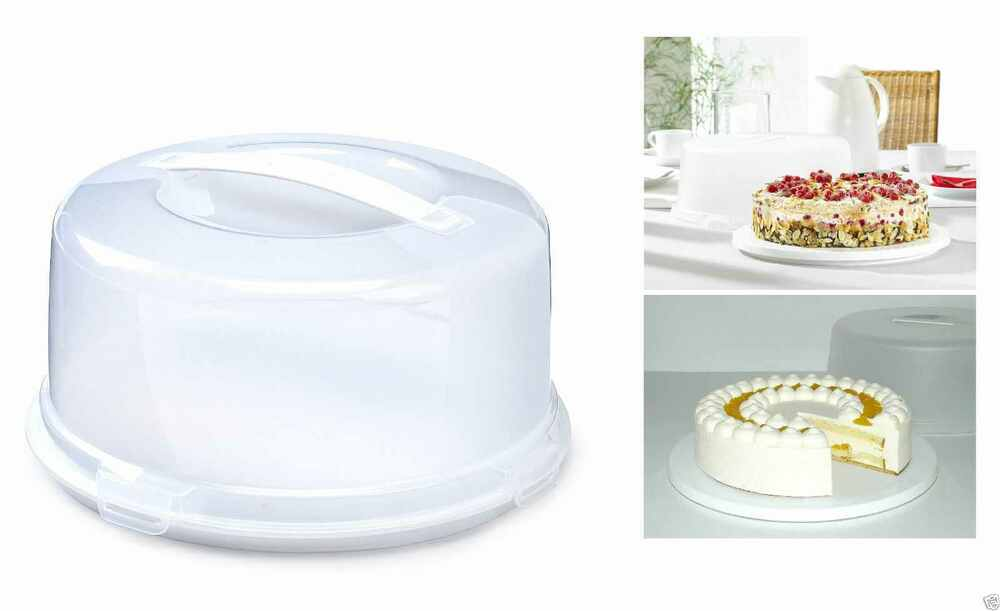 Round Cake Storage Container Listitdallas
