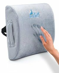 Therapeutic Lumbar Support Cushion Lower Back Car Driver ...