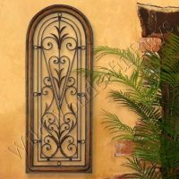Mediterranean Wall Panel Grille Italian Tuscan Window Arch ...