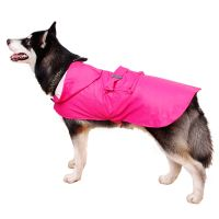Large Dog Raincoat Pet Dog Waterproof Rain Coat Clothes ...
