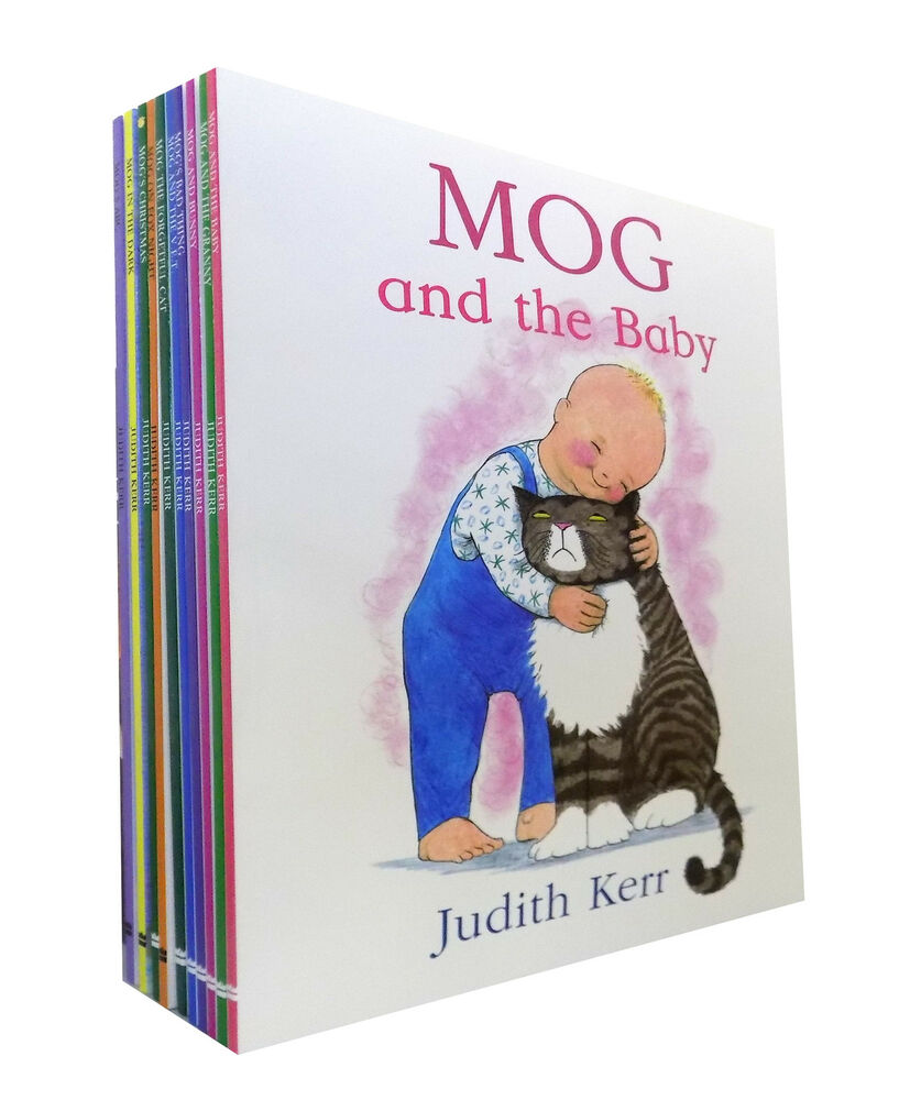 Bad Set For Baby Judith Kerr Mog The Cat Collection 10 Book Set Mog S Bad Thing Mog And Baby 9780007953844 Ebay