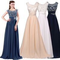 Maxi Formal Bridesmaid Prom Dress Wedding Party Cocktail ...