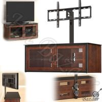 Tv Stand Console Media Entertainment Center Furniture Wall ...