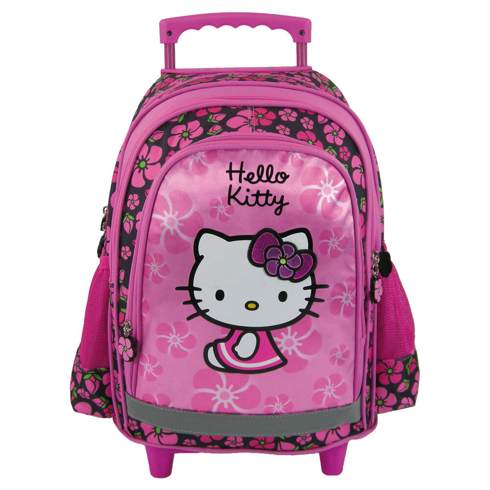 Hello Kitty Küche Toys R Us Hello Kitty Trolley School Bag Backpack On Wheels Licensed Sale Hello Kitty Ebay