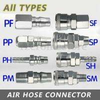 EURO 1/4 Air Line Hose Quick Connector Compressor Coupler ...