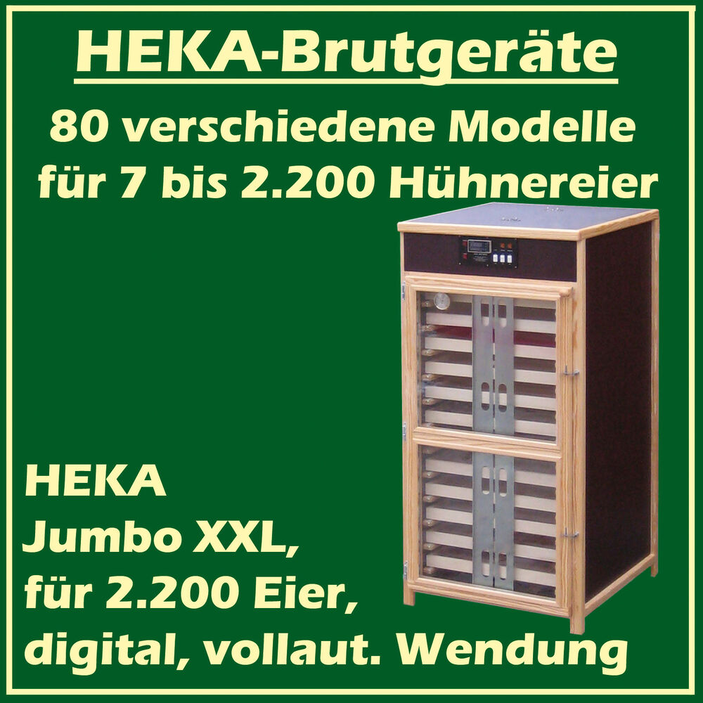 Sessel Made In Germany Heka Jumbo Xxl Fully Automatic Egg Incubator For 2200 Eggs
