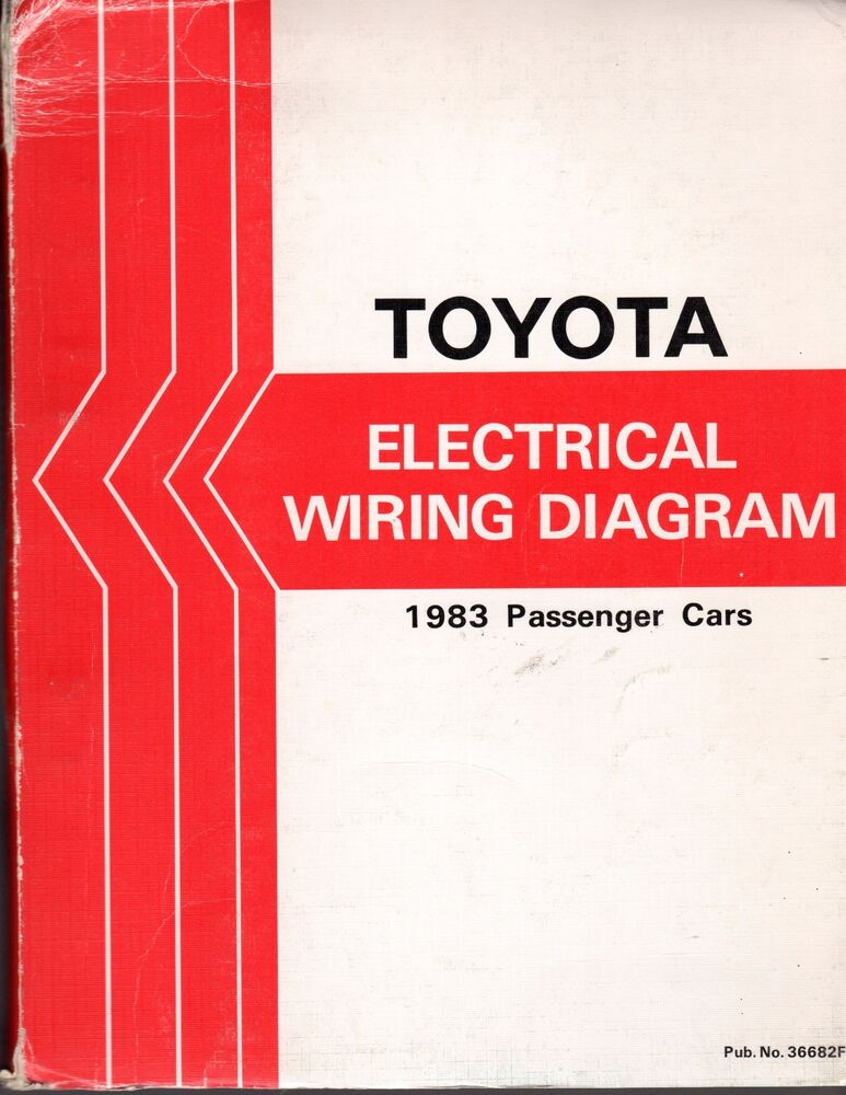 TOYOTA ELECTRICAL WIRING DIAGRAM BOOK 1983 PASSENGER CARS eBay