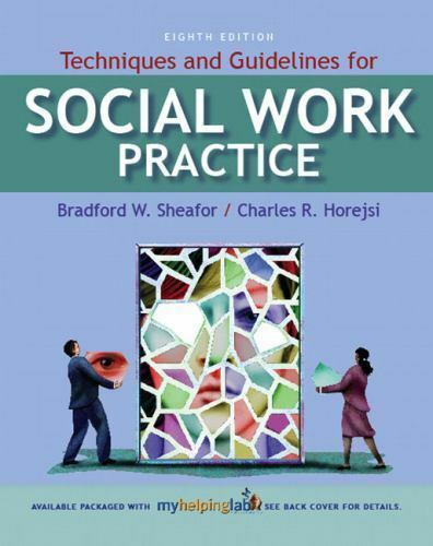 Techniques and Guidelines for Social Work Practice by Sheafor
