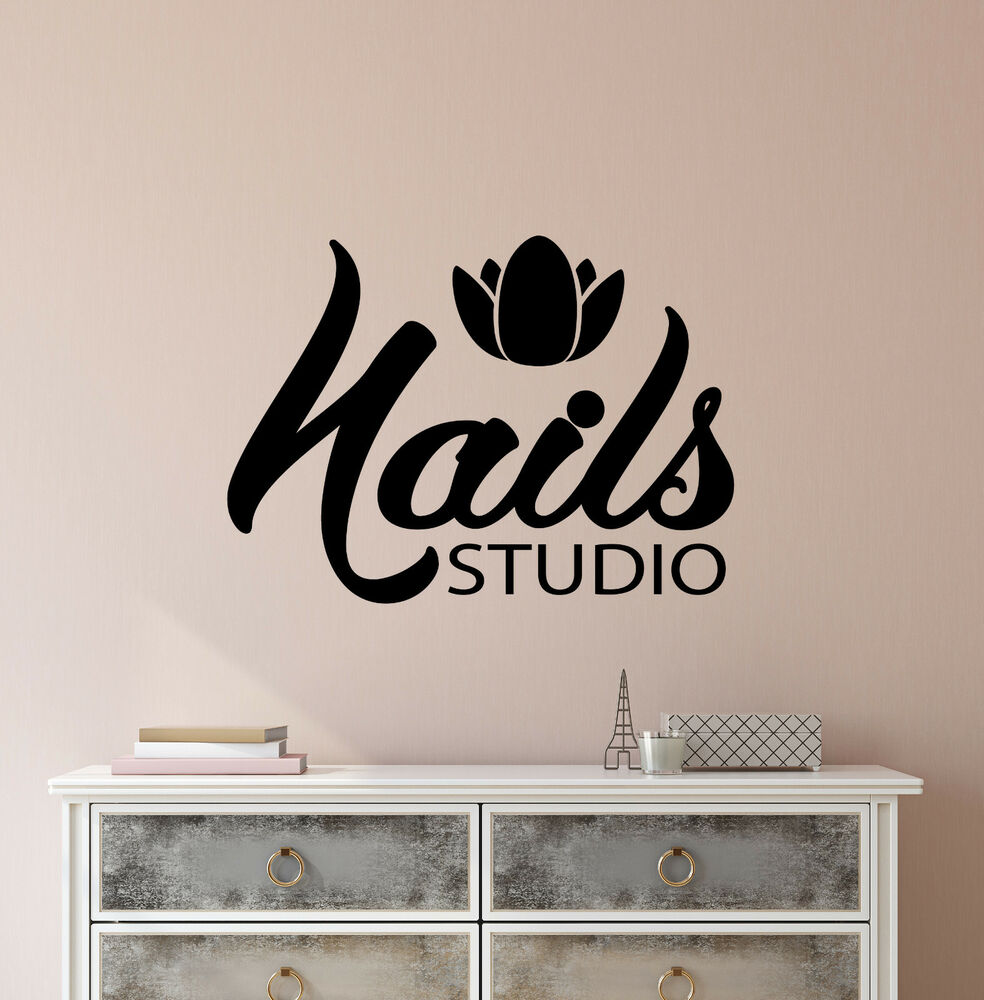 Pedicure Salon Vinyl Wall Decal Nails Studio Signboard Manicure Pedicure Salon Stickers 3105ig Ebay