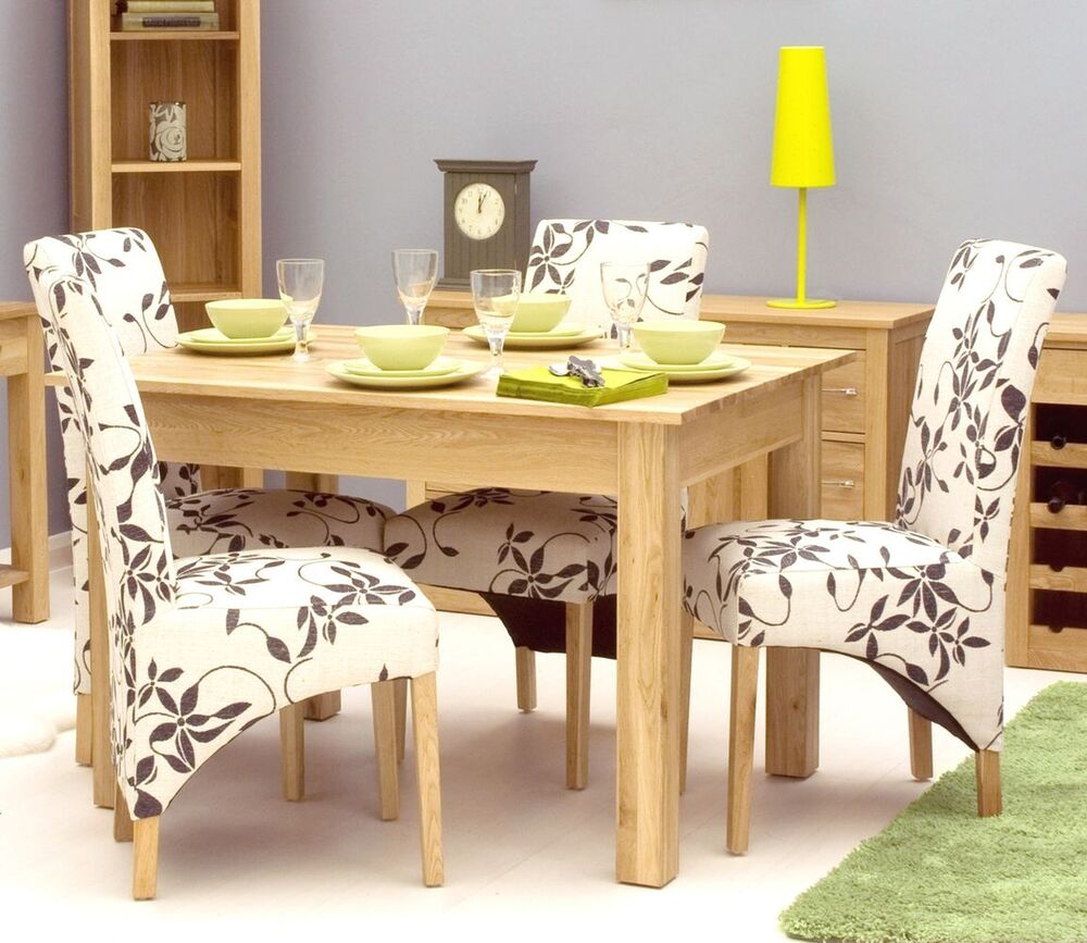 Modern Möbel Mobel Solid Oak Dining Room Furniture Small Modern Dining Table 7426763284601 Ebay