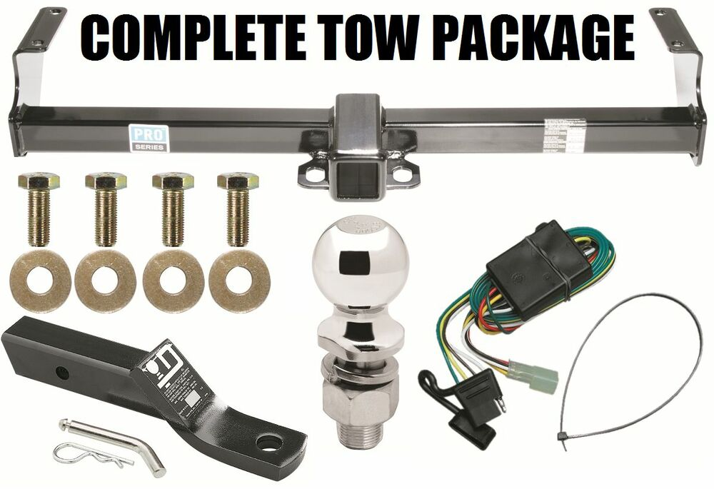 1999-2004 CHEVROLET CHEVY TRACKER TRAILER HITCH + WIRING KIT +