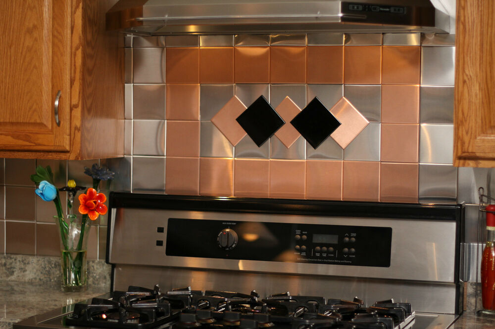 Mexican Style Kitchen Cabinets 24 Decorative Self Adhesive Kitchen Metal Wall Tiles 3 Sq