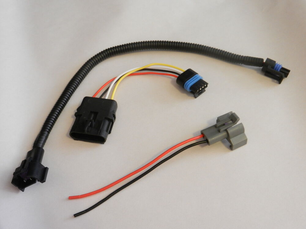 Chevy TPI Large HEI to Small Cap Distributor Adapter Harness Wiring