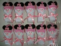 10 MINNIE MOUSE LITTLE SWADDLERS DIRTY DIAPER GAME BABY ...