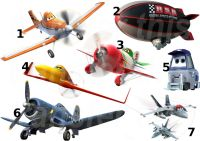 DISNEY PLANES STICKER WALL DECAL OR IRON ON TRANSFER ...