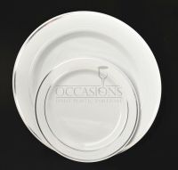 Bulk, Wedding Party Disposable dinnerware Heavyweight ...