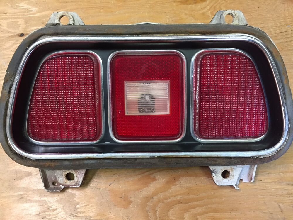 1971 1972 1973 FORD MUSTANG MACH 1 TAIL LIGHT ASSEMBLY USED OEM eBay