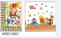 Winnie The Pooh Garden Wall Art Removeable Stickers ...