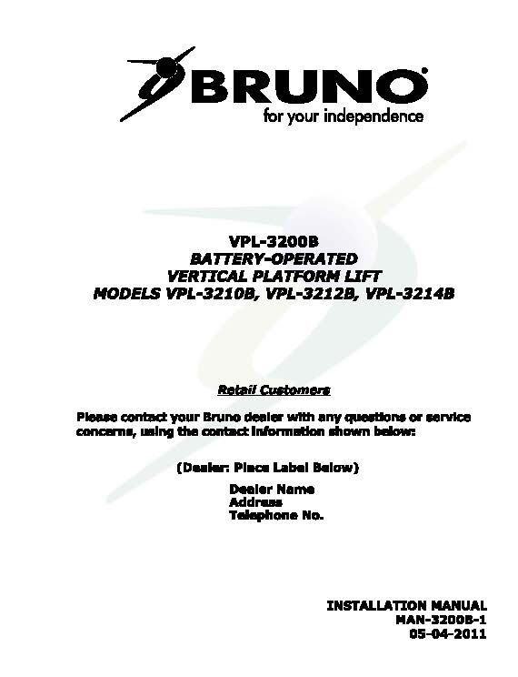 BRUNO 2750 STAIR LIFT WIRING DIAGRAM - Auto Electrical Wiring Diagram