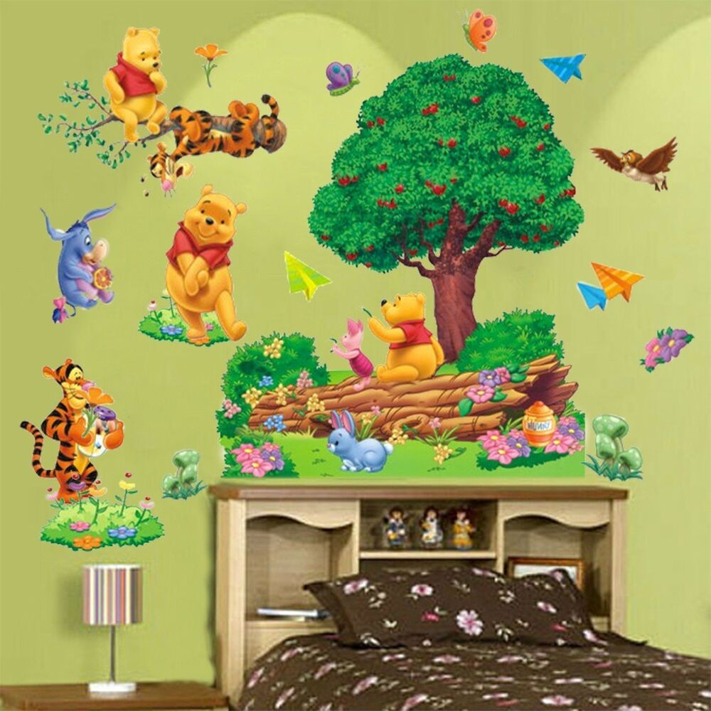 Removable Winnie The Pooh Wall Sticker Vinyl Decals