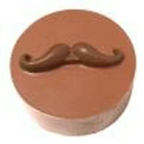 Chocolate Covered Oreo Sandwich Cookie Mold Mustache