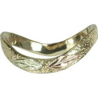 Black Hills Gold thumb ring womens ladies size 6 7 8 9 10 ...