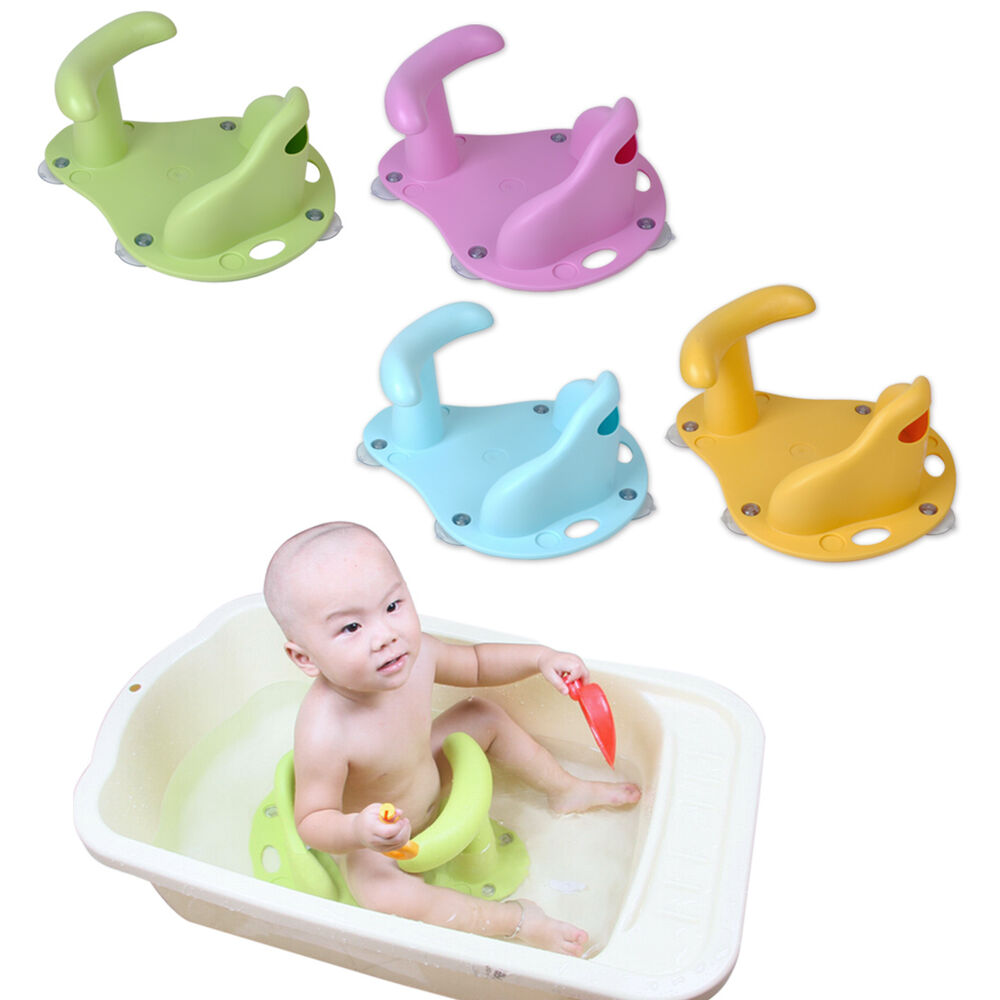 Baby Infant Child Toddler Bath Seat Ring Non Anti Slip - Newborn Baby Bath Seat