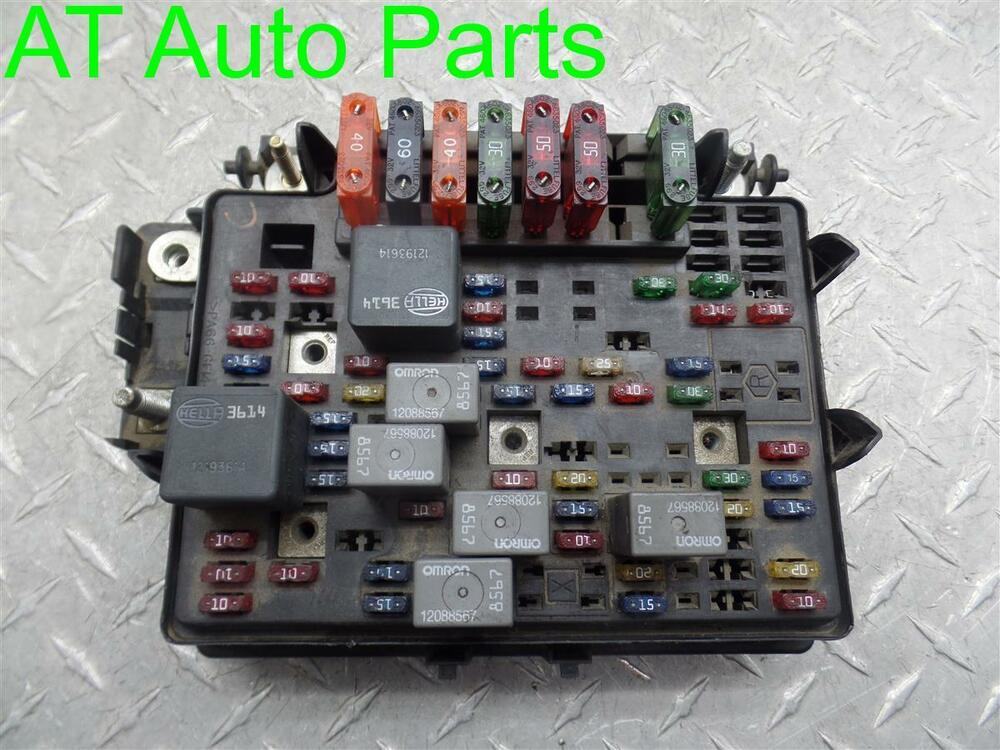 99 Gmc Fuse Box - Wiring Data Diagram