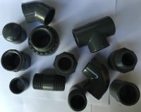 "PVC SOLVENT WELD PIPE FITTINGS - 1/2"" - 4"" FISH/POND ..."