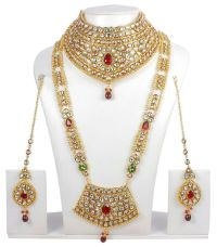376 Indian Bollywood Style Fashion Gold Plated Bridal ...