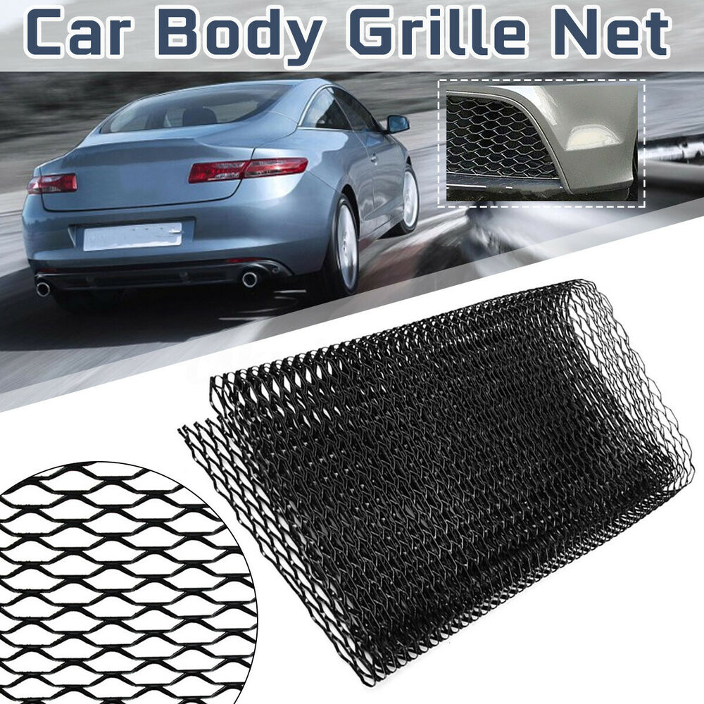 "Car Grill Car Vehicle Black Body Grille Net 13""x40"" Universal"