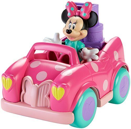 Pram Pushchair Toys Baby Girl Toy Car Toddler Toys Set Pink Wheels Minnie