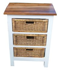 Rattan chest of drawers | eBay