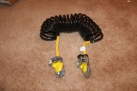 Set of 2 Glad Hands w Hoses Truck Trailer Air Brakes ...