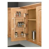 3 Shelf Kitchen Pantry Cabinet Door Mount Organizer