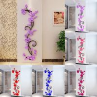 3D Rose Flower Removable Wall Vinyl Decal Art Home Decor