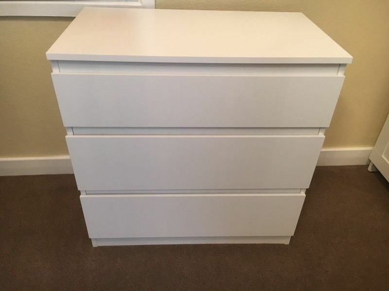 Kullen Ikea Ikea Chest Of 3 Drawers Kullen White | Ebay