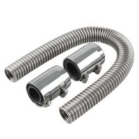 "24"" Universal Chrome Stainless Steel Radiator Flex Coolant ..."