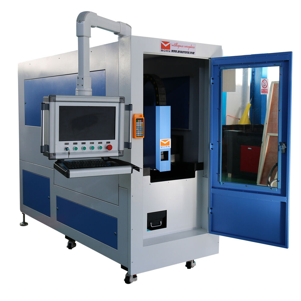 Laser Cutting Machine Metal 750w Fiber Laser Cutting Machine Perfect Metal Cutter 400 200mm Table Ebay