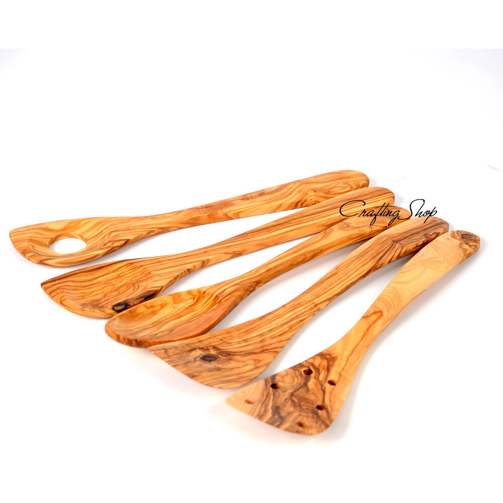 Artelegno Spoon Rest Sale Handmade Olive Wood 5 Kitchen Utensils Cooking Tools Ebay