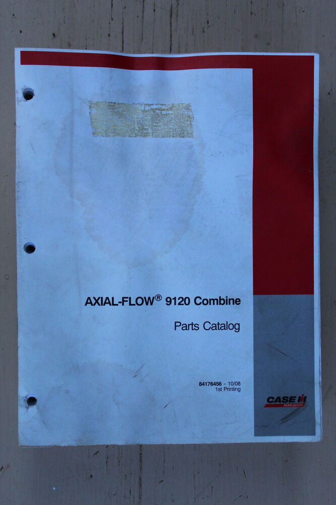 Case-IH 9120 combine original parts catalog #84176456 eBay