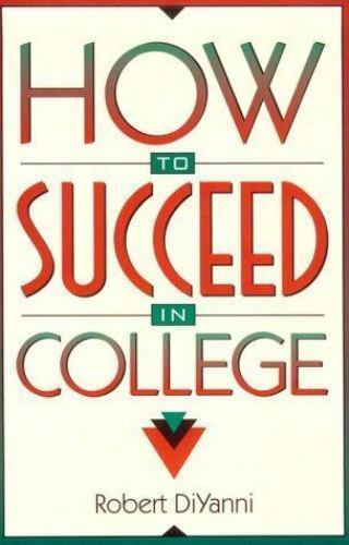 How to Succeed in College-ExLibrary 9780205175260 eBay