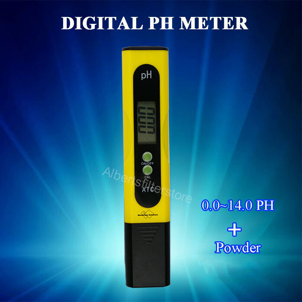 Ph Piscinas Medidor De Ph Digital Tester Ph Metro Lcd Precisión Por Agua Piscina Aquario Ebay