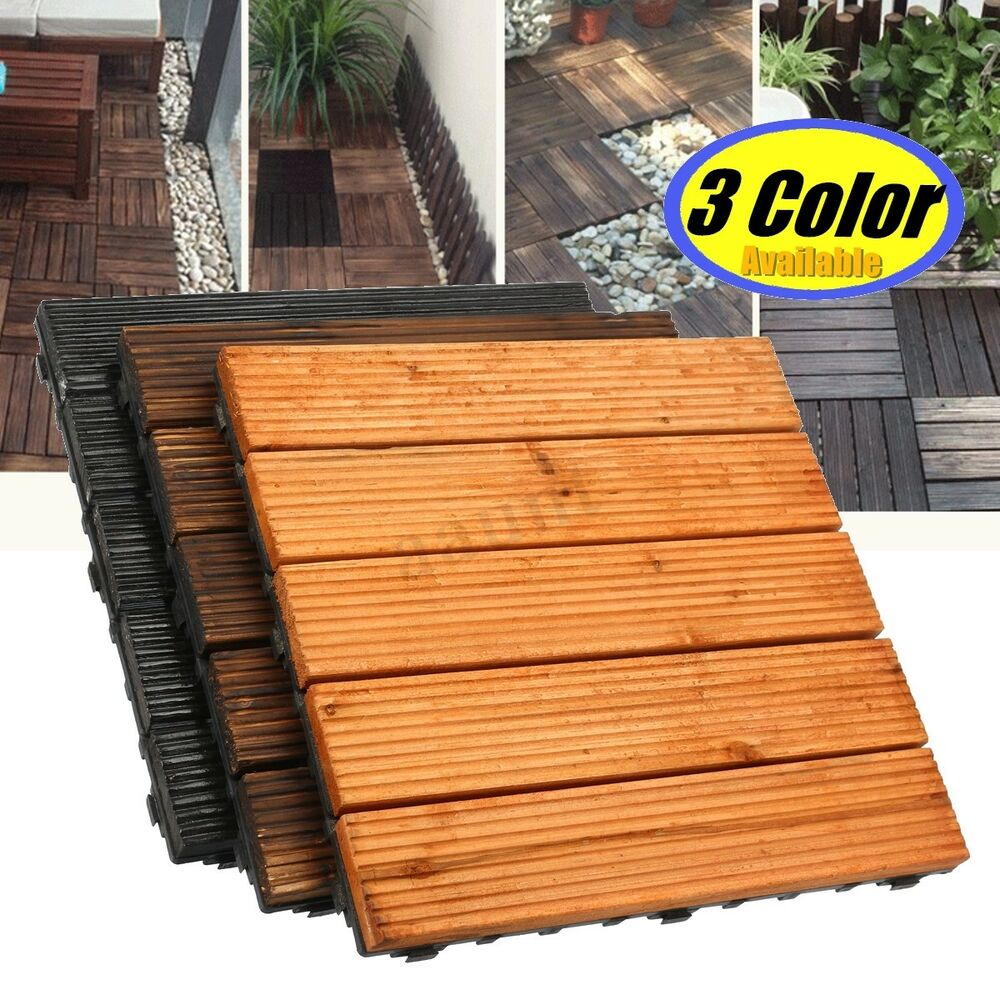 Interlocking Deck Tiles 12
