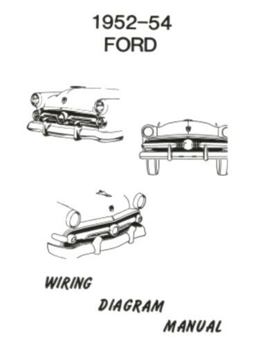 53 ford car wiring diagram